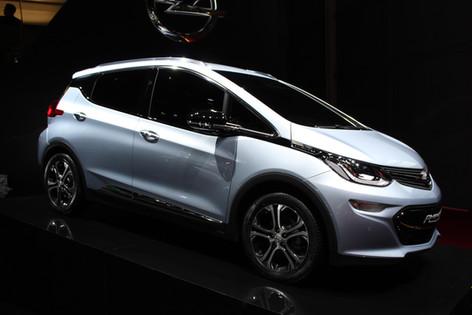 Vauxhall Ampera-e electric gets Paris debut