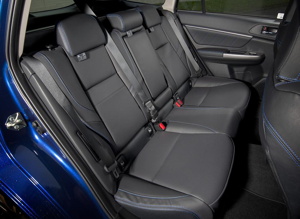 2017 Subaru Levorg 1.6i GT - rear seats
