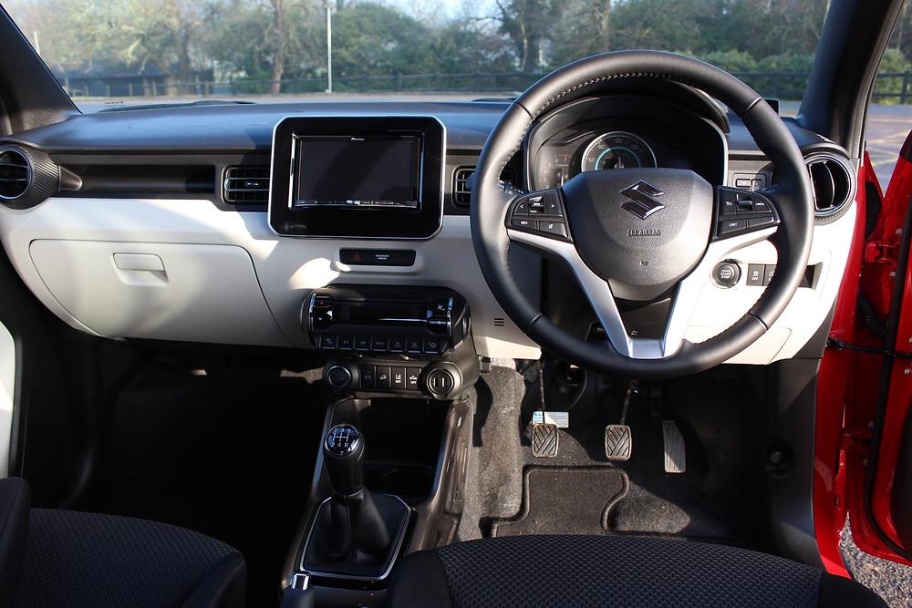 2017 Suzuki Ignis HS5 inside