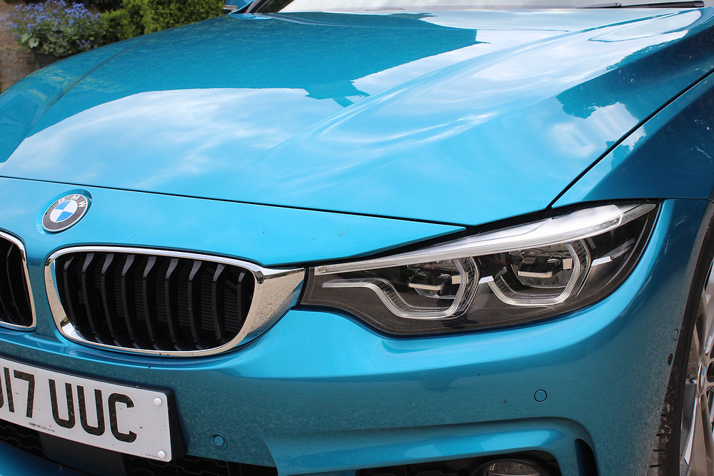 BMW 440i Gran Coupe headlights
