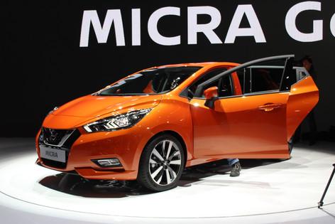 2017 Nissan Micra stuns Paris Motor Show