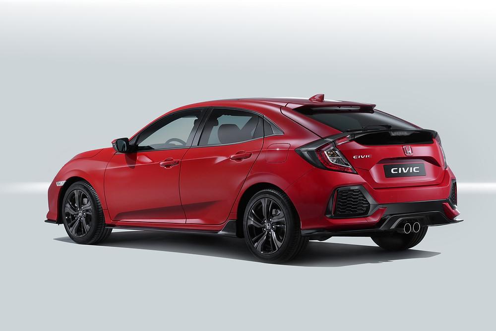 2017 Honda Civic - rear 3/4