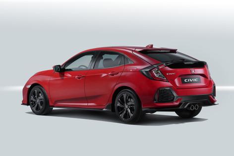 2017 Honda Civic to debut at the Paris Motor Show