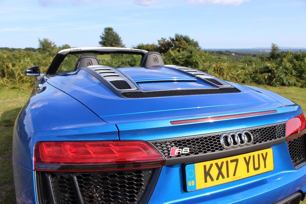 2017 Audi R8 Spyder - rear