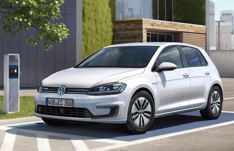 2017 VW e-Golf gets LA World premiere