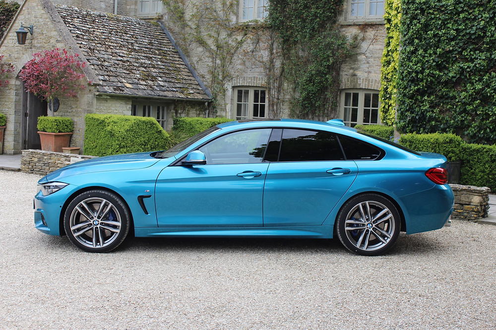 BMW 440i Gran Coupe - side