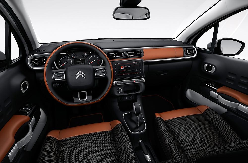 2017 Citroen C3 - interior