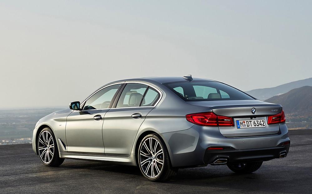 2017 BMW 5-Series - rear