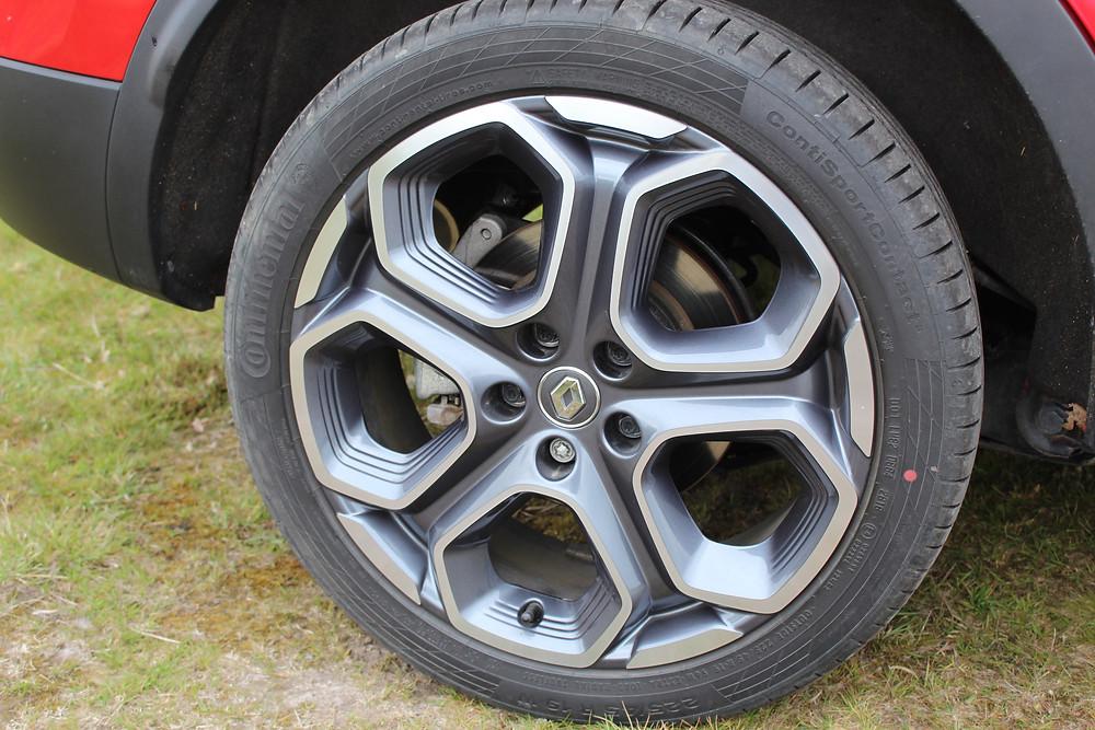 Renault Kadjar alloy wheels