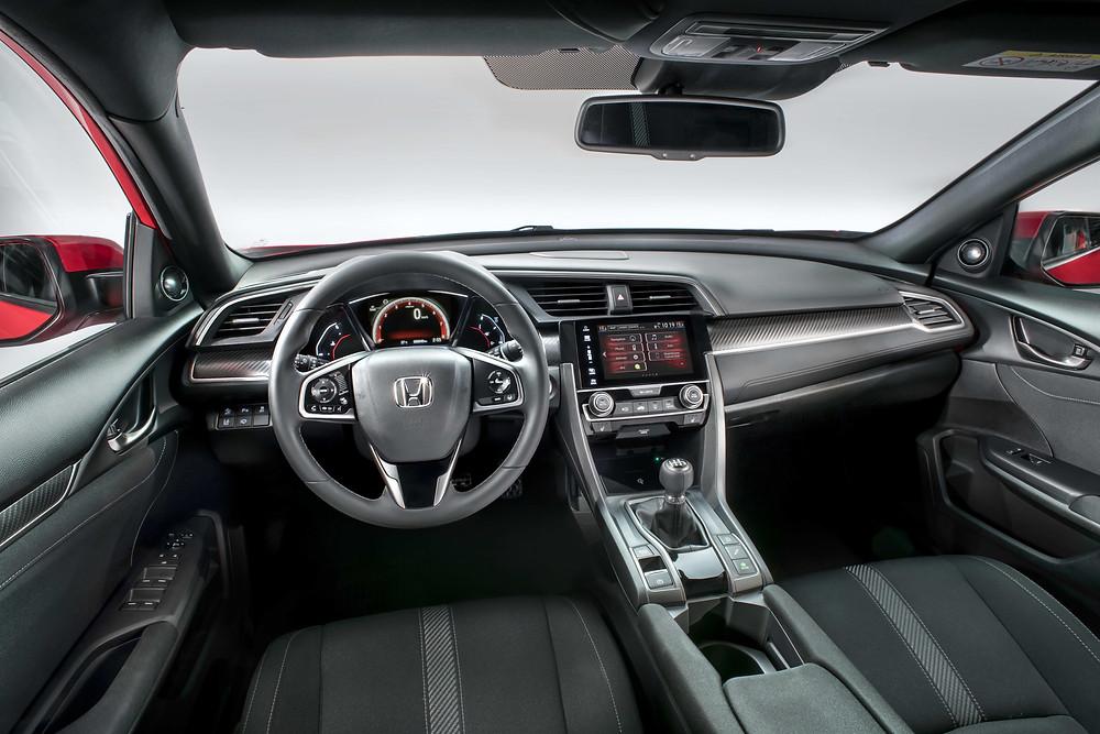 2017 Honda Civic - interior