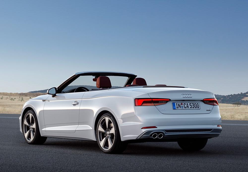2017 Audi A5 - rear