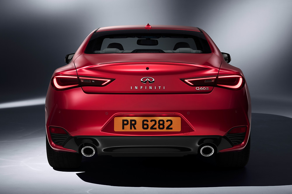 Infiniti Q60 Coupe - rear