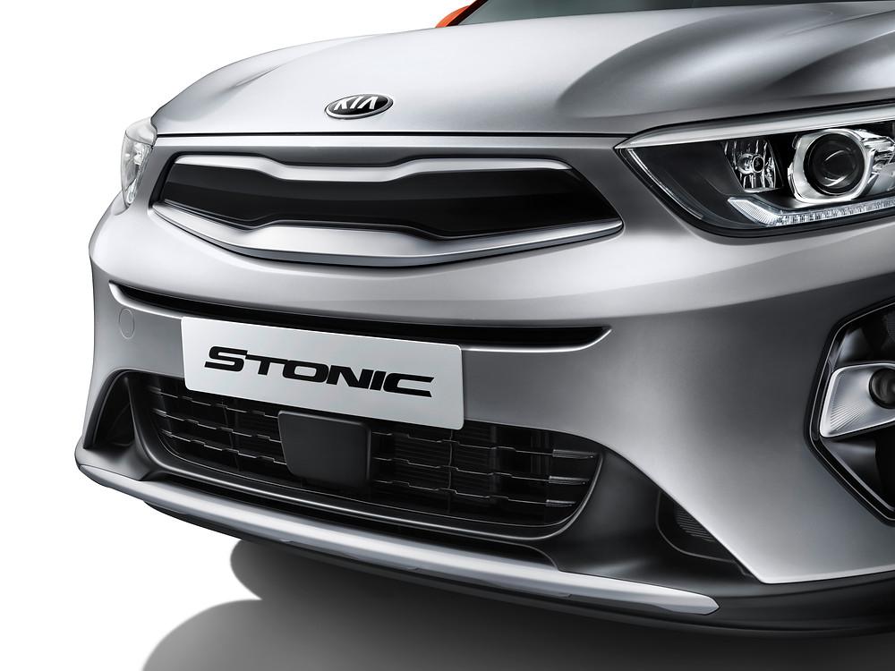 2017 Kia Stonic 'tiger nose' grille