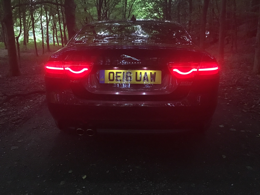 Jaguar XE AWD - rear lights