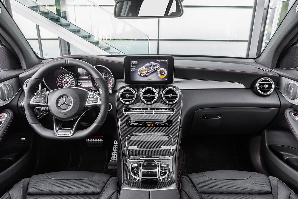2017 Mercedes-AMG GLC 43 4Matic Coupe - interior