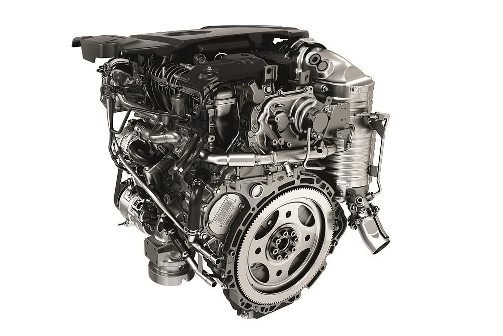 2017 Range Rover Sport SD4 Ingenium Engine