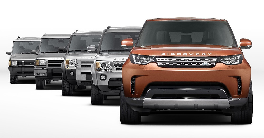 Land Rover Discovery through the generations