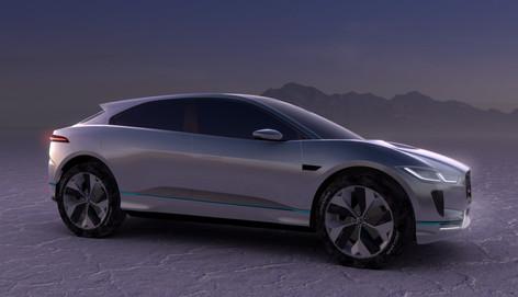 2018 Jaguar I-PACE electric vehicle concept unveiled