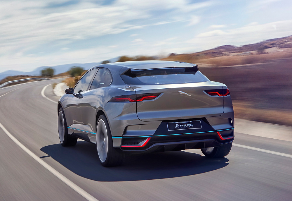 2018 Jaguar I-PACE - rear