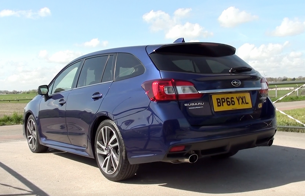 2017 Subaru Levorg 1.6i G rear three-quaters