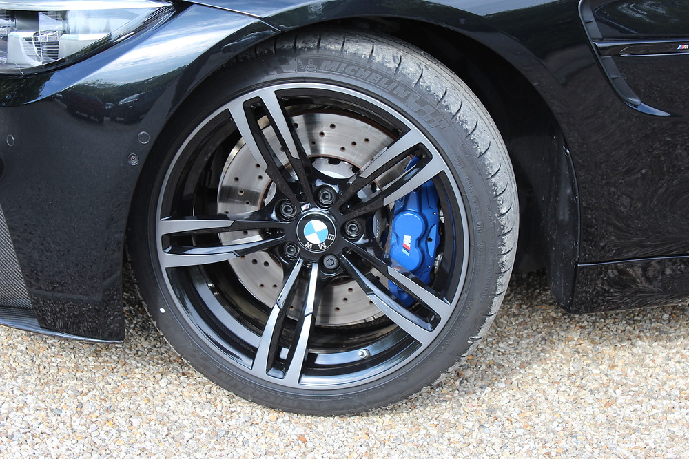 2017 BMW M4 Competition Pack alloys