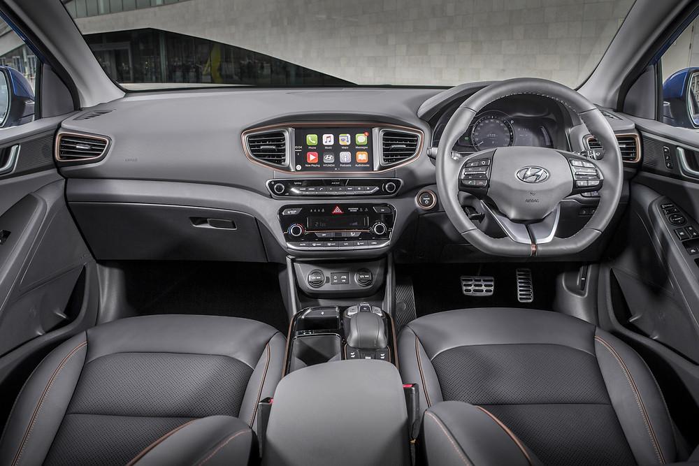 2017 Hyundai Ioniq Electric - interior
