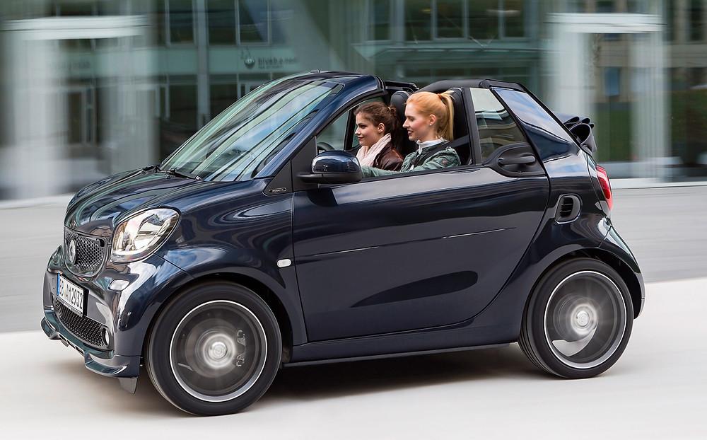 2016 Smart Brabus Fortwo Cabrio