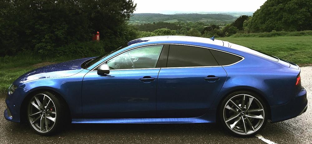 Audi RS7 - Side