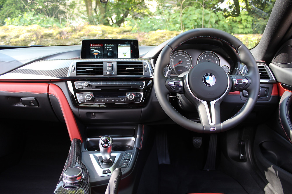 2017 BMW M4 Competition Pack - dashboard