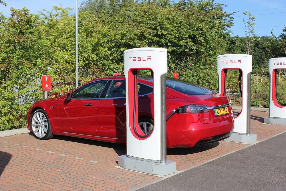 2017 Tesla Model S 100D - Maidstone Superchargers