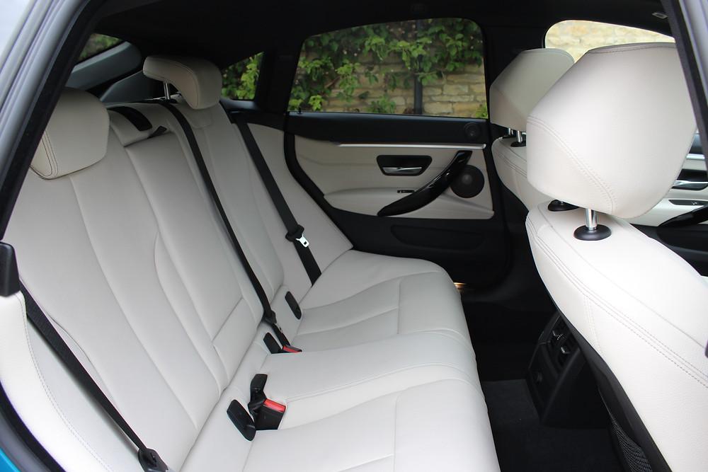 BMW 440i Gran Coupe - rear seats