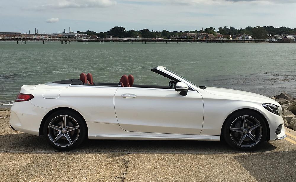 Mercedes C-Class Cabriolet - side profile