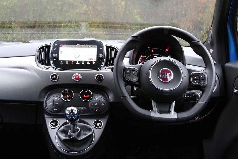 2016 FIAT 500S - interior