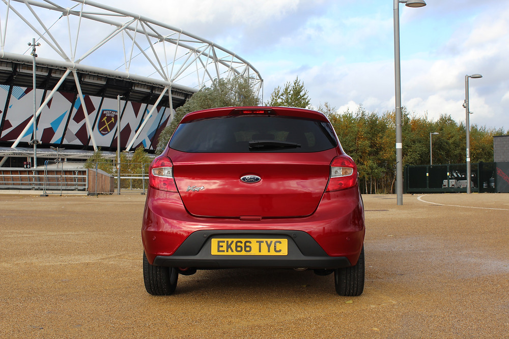 2016 Ford KA+ - rear