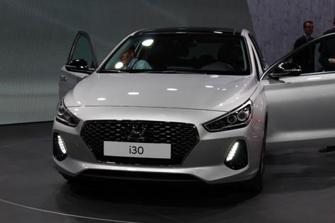 Hyundai i30 debuts at Paris Motor Show