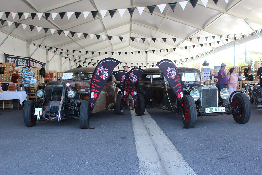 Dusty Rebel Village at Cape Town Motor Show