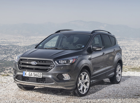 2017 Ford Kuga launched with mid-life facelift