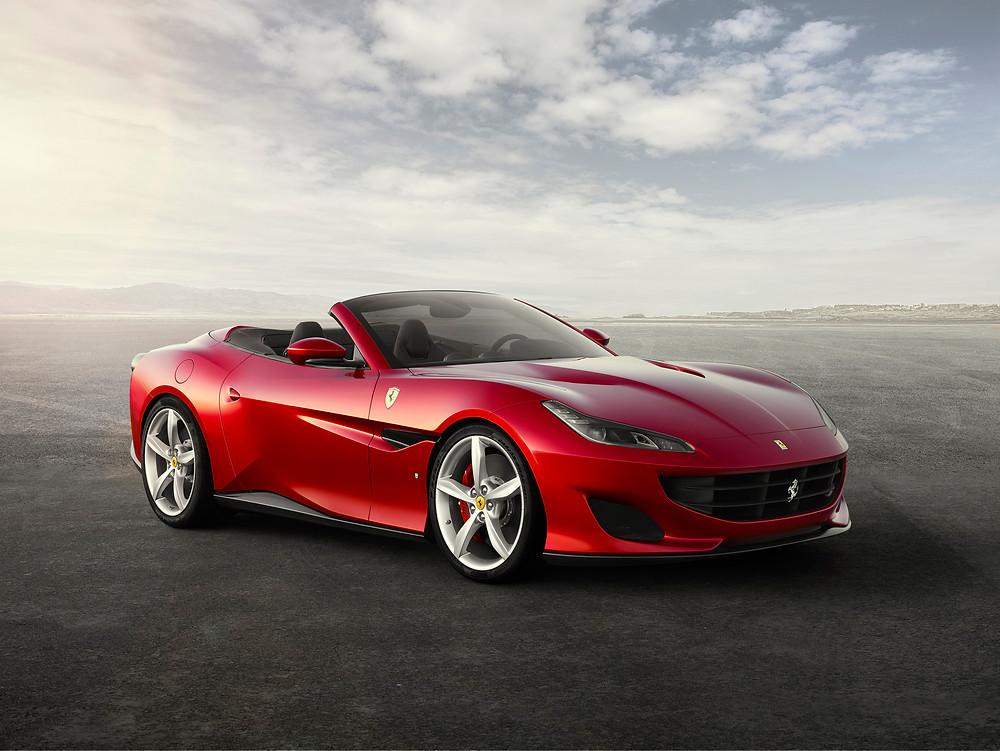 2018 Ferrari Portofino front 3/4