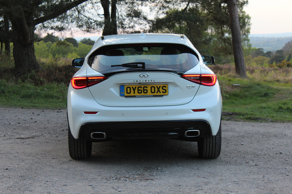 2017 Infiniti Q30 - rear