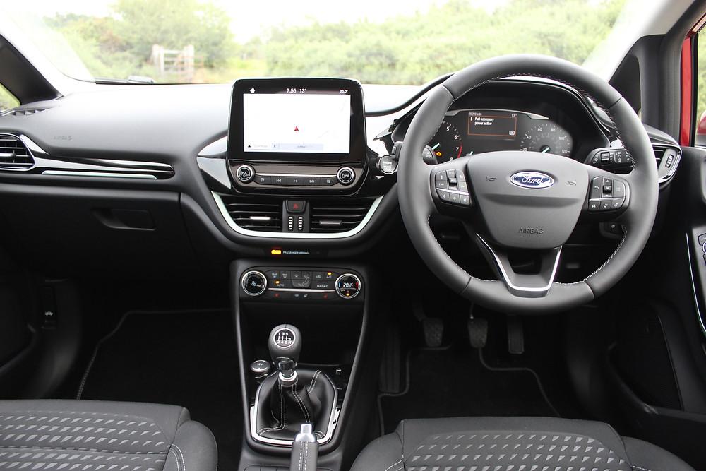 Ford Fiesta 1.0T EcoBoost Titanium interior