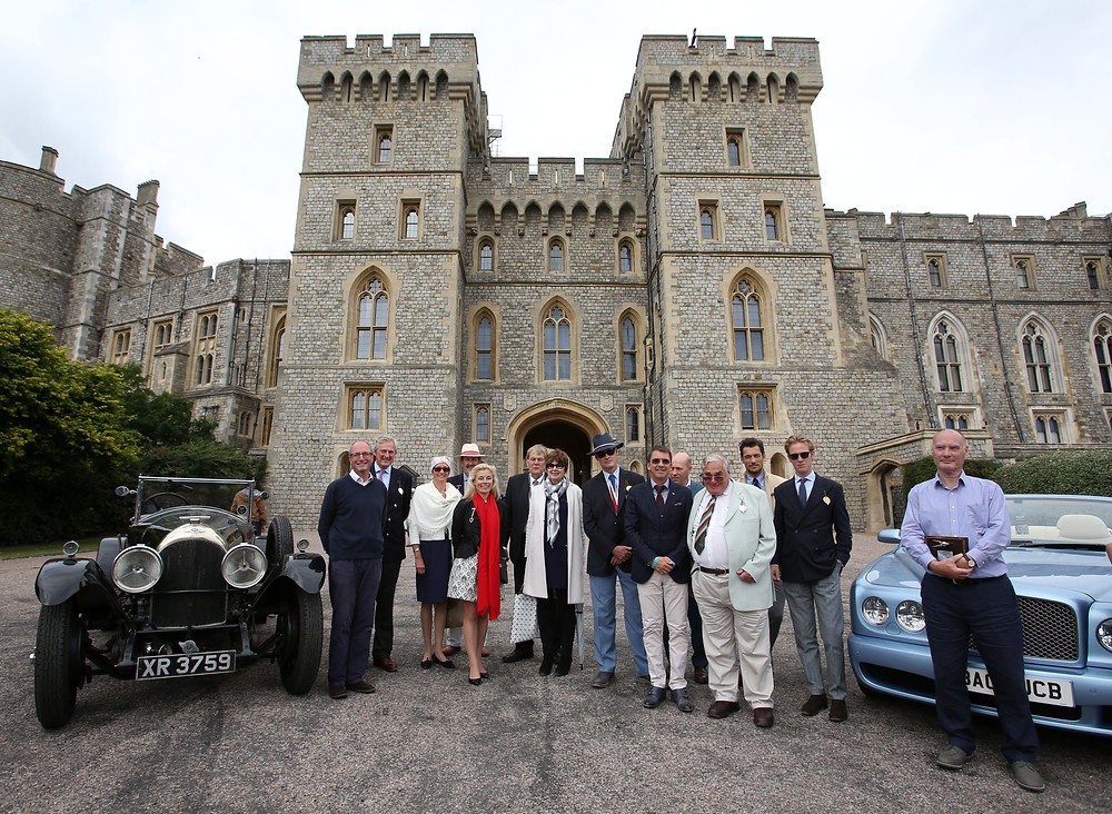 Bentley award winners at Concours of Elegance