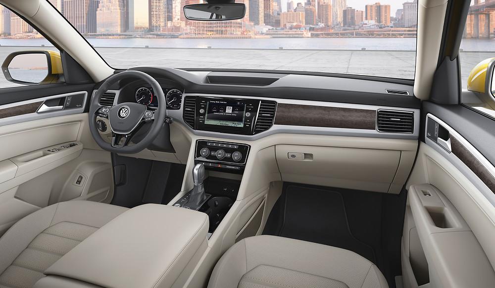 2017 Volkswagen Atlas - interior