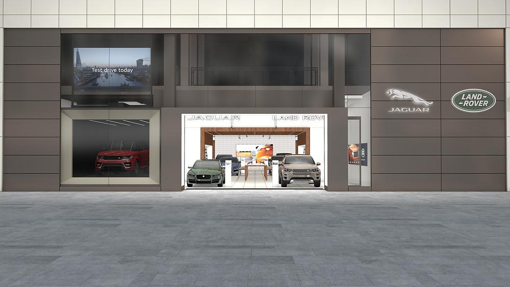 Jaguar Land Rover Store Westfields Stratford