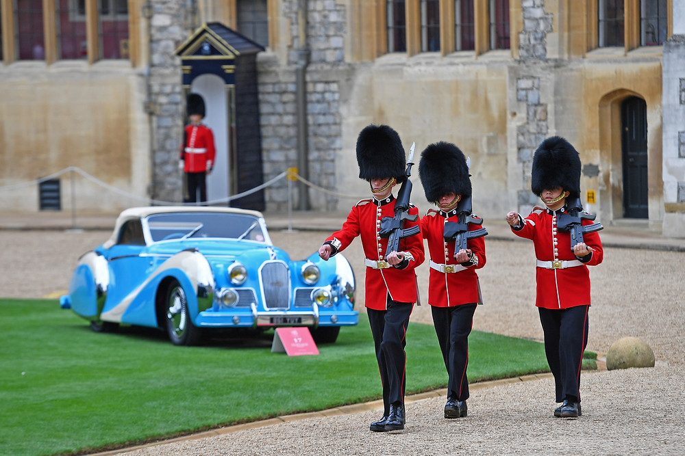 2016 Concours of Elegance at Windsor Castle