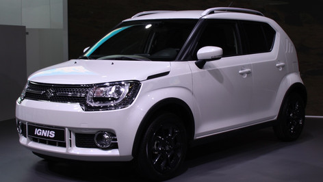 2017 Suzuki Ignis unveiled at the Paris Motor Show