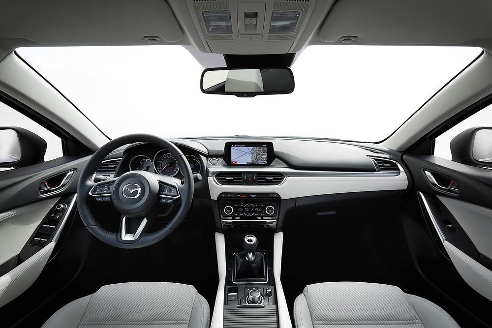 2017 Mazda 6 - interior