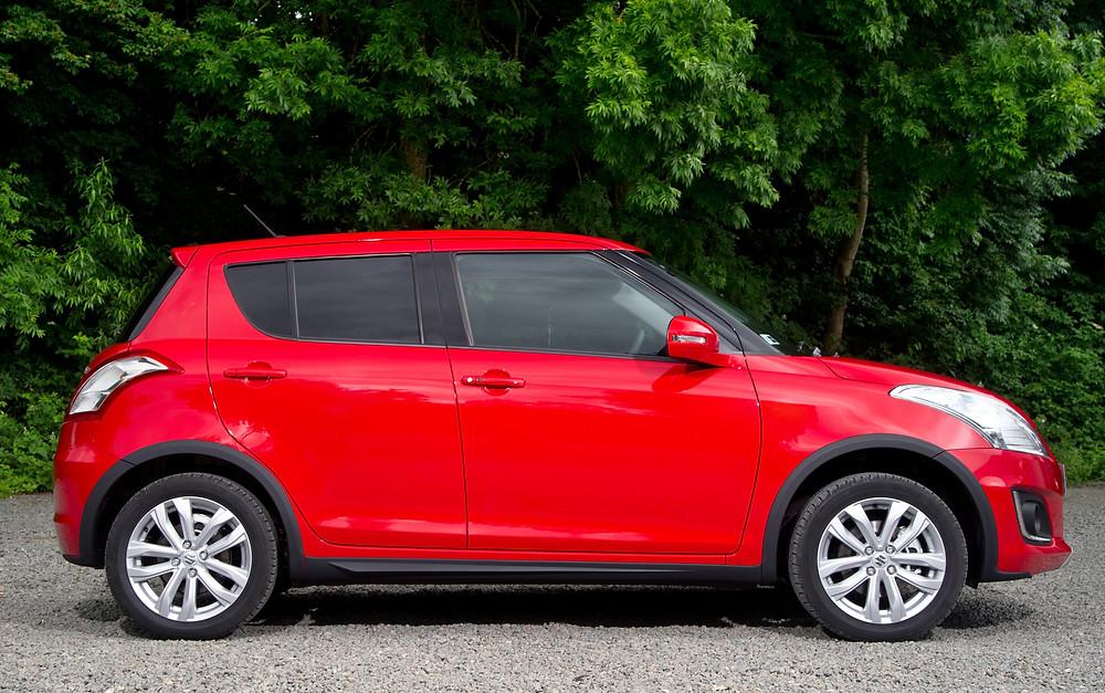 2016 Suzuki Swift 4x4 - side