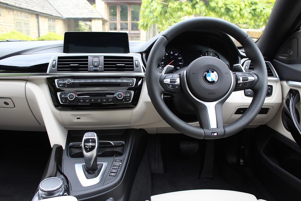 BMW 440i Gran Coupe - dashboard