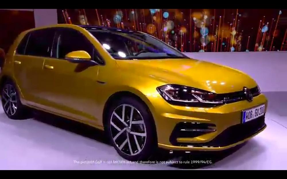 2017 VW Golf - closeup