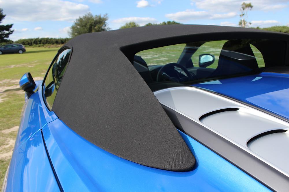 2017 Audi R8 Spyder fabric roof